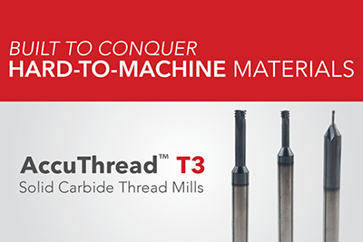Thread Mill Offering Expands with Addition of AccuThread™ T3
